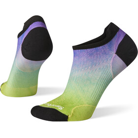 Smartwool PhD Run Ultra Light Micro Socks Ombre Print Women smartwool green